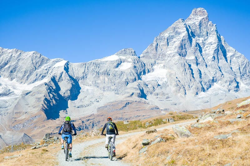 Gran Balconata del Cervino in E-Bike - Percorsi Alpini